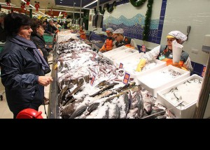 El consumo de pescado en los hogares cae un 13,5 % en los últimos seis años