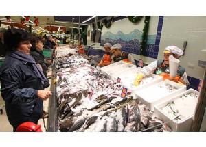 Consumo de pescado fresco y congelado en los hogares desciende en 2017